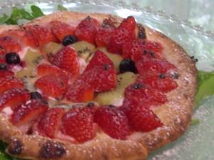 エンボカ-イチゴのピザ