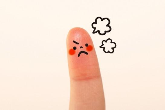怒りのイメージ